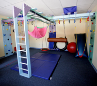 Therapeutic programs hollynelsonpediatricot com for Basement jungle gym